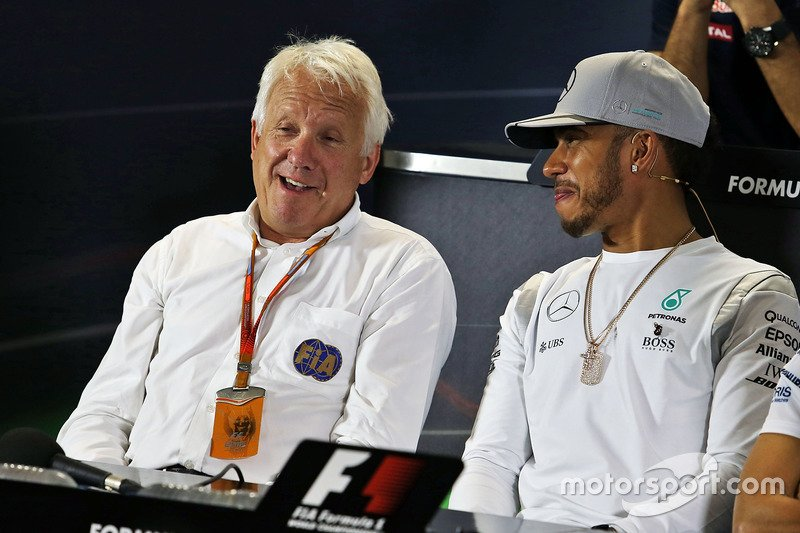 Charlie Whiting Twitter: Charlie Whiting Amused By Lewis Hamilton Accusations