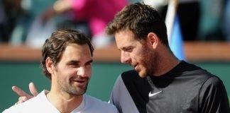 Juan Martin del Potro Invites Roger Federer