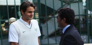 Sachin Tendulkar and Roger Federer