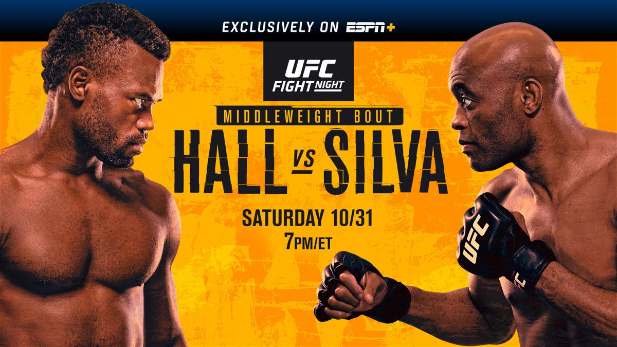 Watch UFC Fight Night 181: Hall vs. Silva 10/31/20