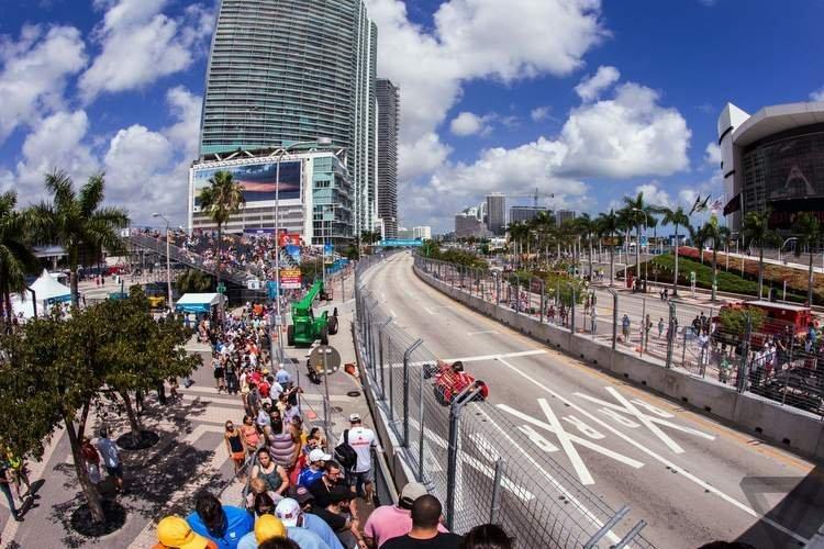 Miami F1 Circuit Takes Shape