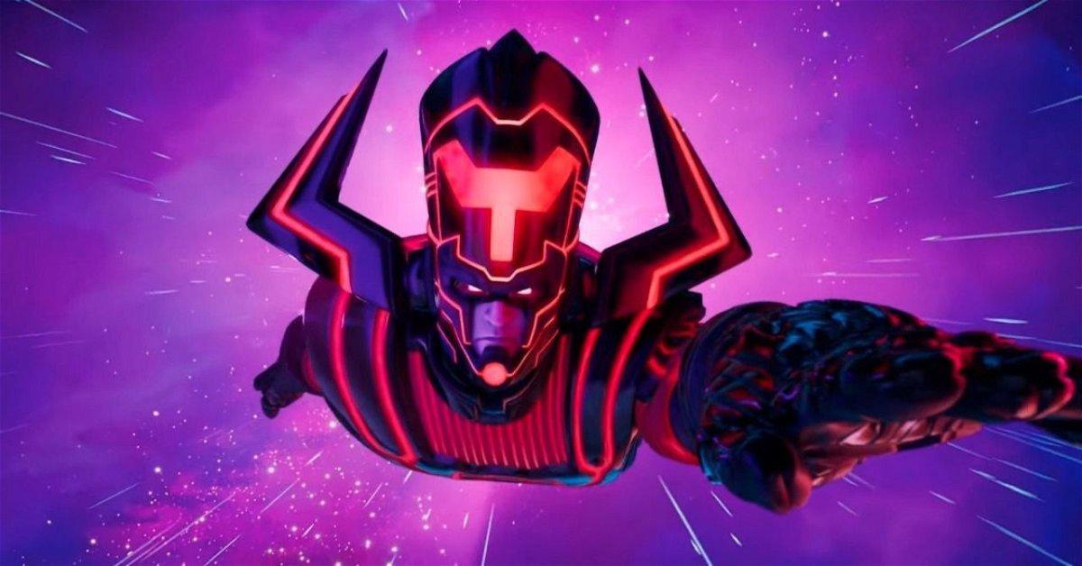 Fortnite Glitch Lets You Drive the Battle Bus Into Galactus - EssentiallySports