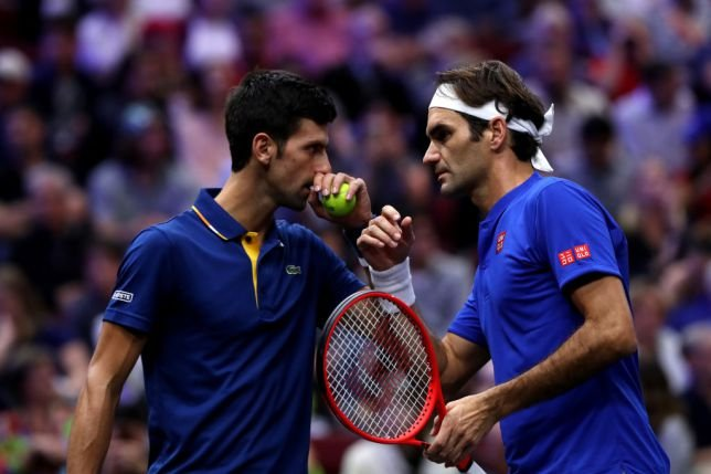 The tennis Big Shots in Chicago for the Laver Cup