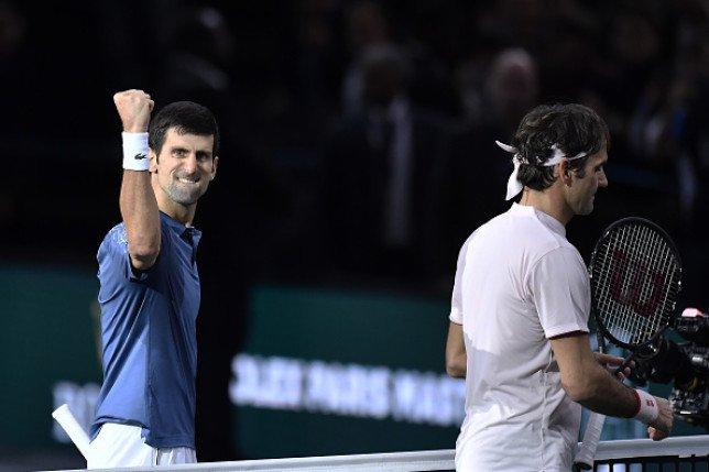 Novak Djokovic sets up Paris Masters semi-final against Roger Federer