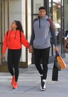 Giannis Antetokounmpo S Girlfriend Reveals She S A Former Lakers Fan Essentiallysports