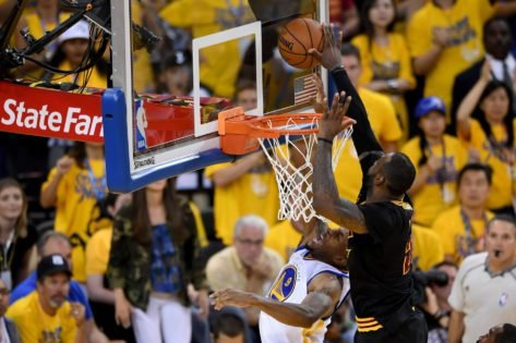 NBA THROWBACK: Reliving LeBron James' Famous 2016 Block on Andre Iguodala