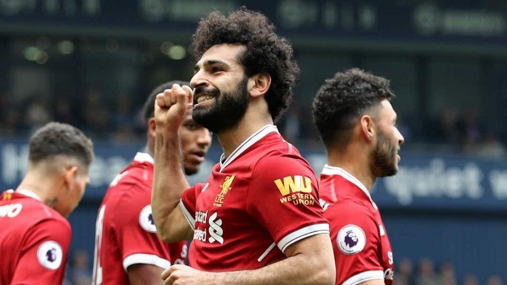 Salah sets a new Premier League record.
