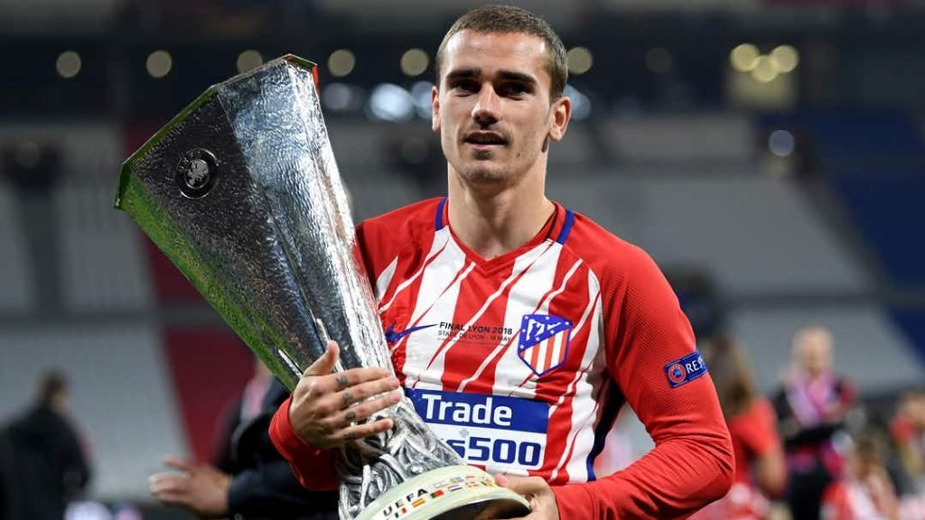 Griezmann maybe moving to Barcelona soon.