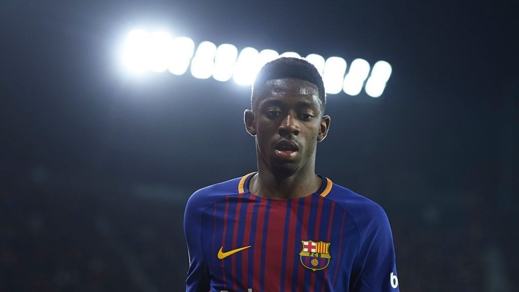 Dembele fears Malcom's arrival could cut down his playing time for Barcelona
