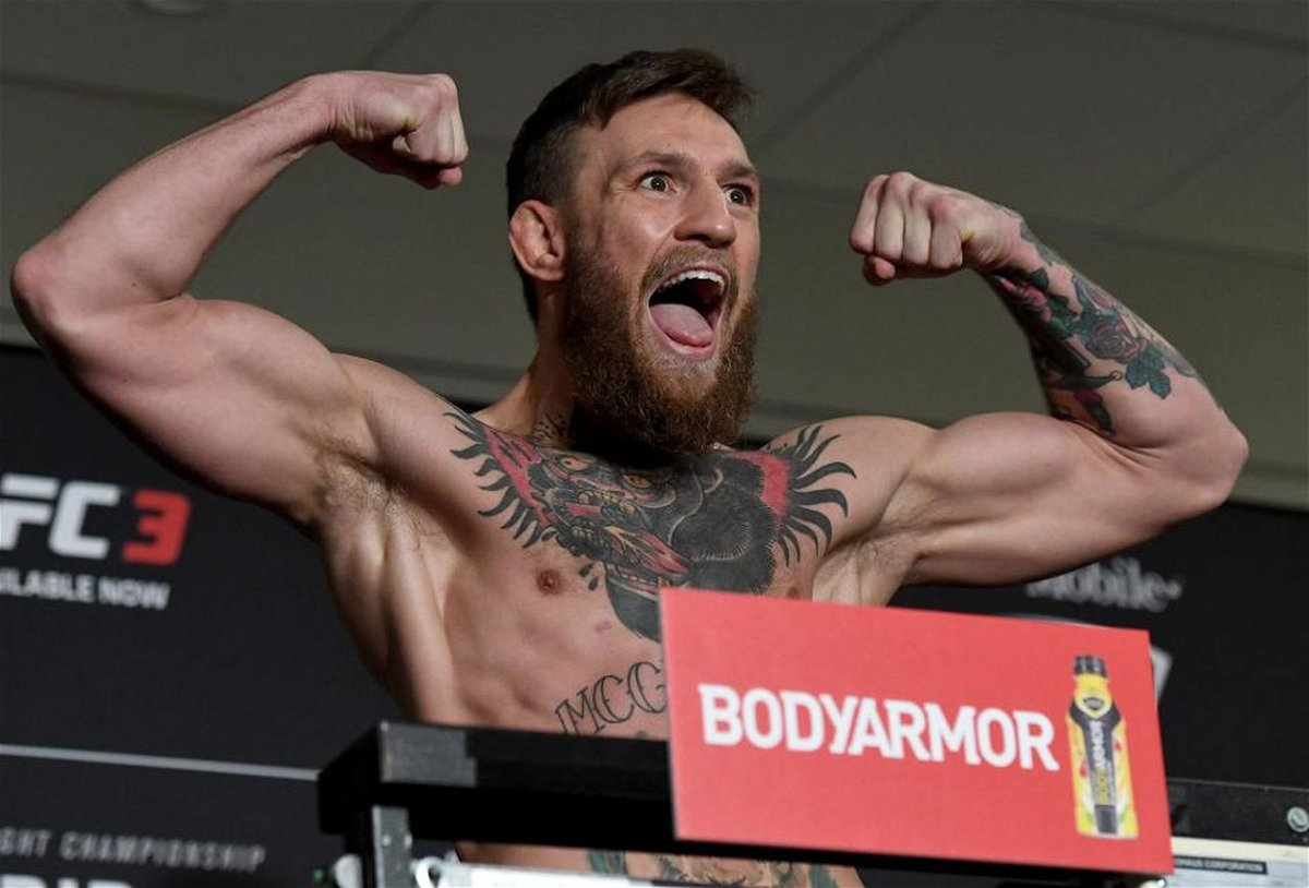 Watch Conor Mcgregor And Donald Cerrone Hit The Scale On