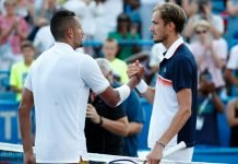 Nick Kyrgios and Daniil Medvedev