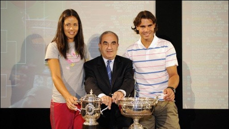 Ana Ivanovic and Rafael Nadal