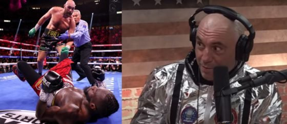"""Joe Rogan Delivers Distressing News to Deontay Wilder: """"That's the Kind of Knockout That Can End a Career"""""""