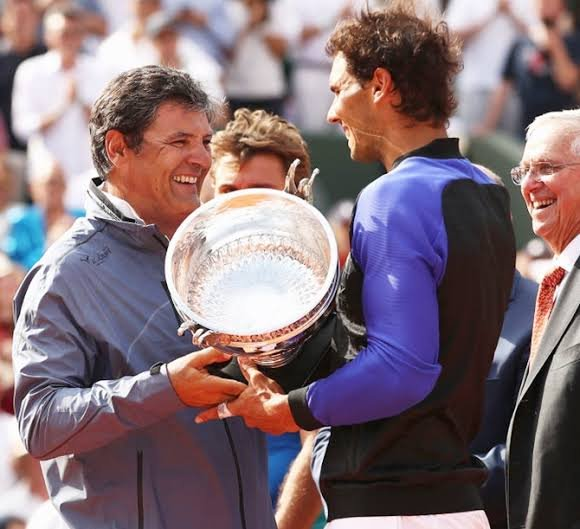 Rafael Nadal uncle Toni Nadal