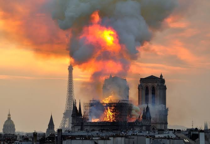 Novak Djokovic on Notre-Dame tragic