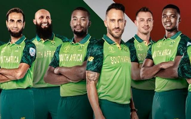 ICC Cricket World Cup 2019: South Africa Jersey