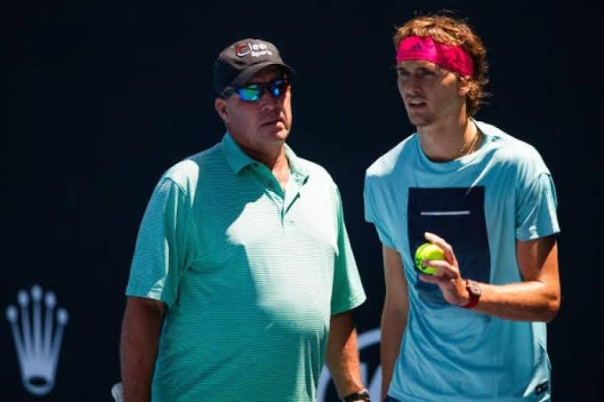 Alexander Zverev and Ivan Lendl