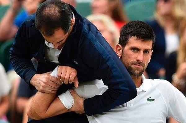 Djokovic admits he was outplayed in Medvedev defeat