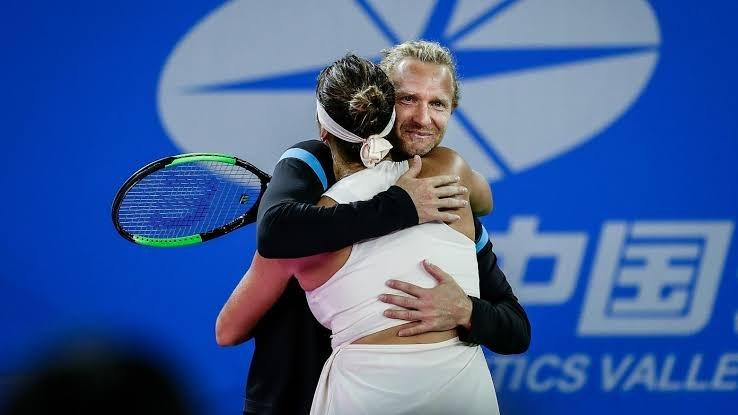 Aryna Sabalenka and Dmitry Tursunov