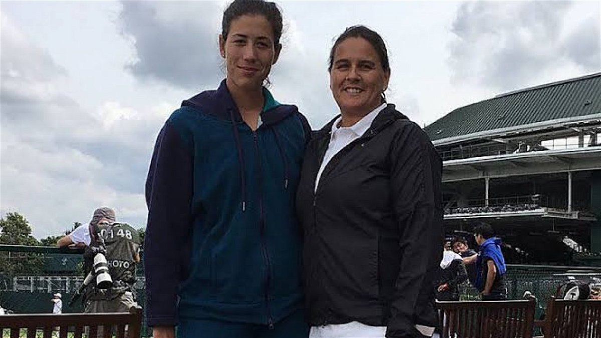 Anabel Alonso Hot garbine muguruza reunites with coach conchita martinez for