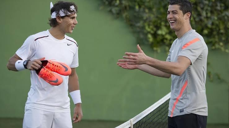 Rafael Nadal and Cristiano Ronaldo