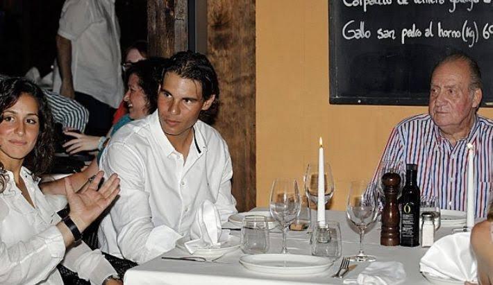 Rafael Nadal and King Juan Carlos