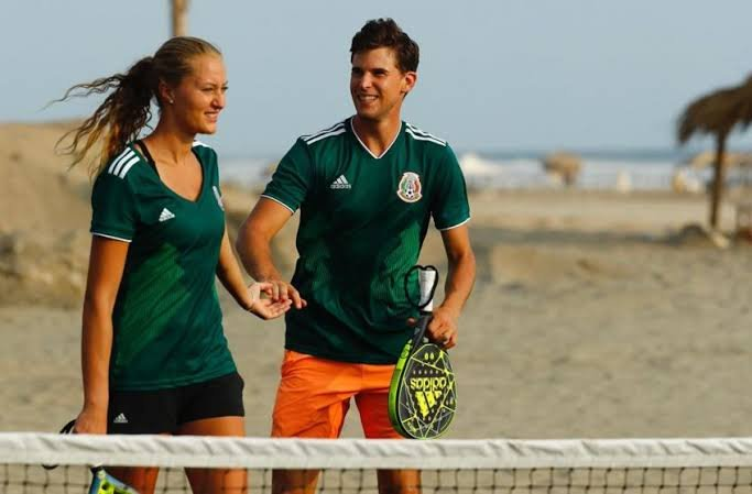 Dominic Thiem Talks About His Love Story With Kristina Mladenovic And How It Started Essentiallysports