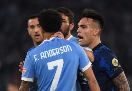 WATCH: Lazio Player Ambushes Former Teammate Who Joined Rival Club Inter Milan After Game