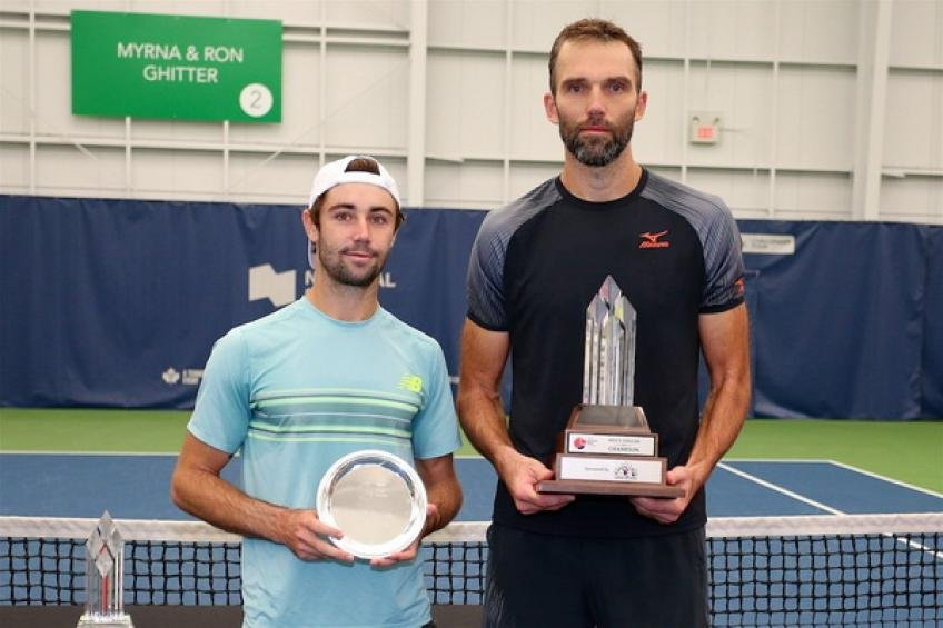 Ivo Karlovic becomes the oldest player to win a challenger event