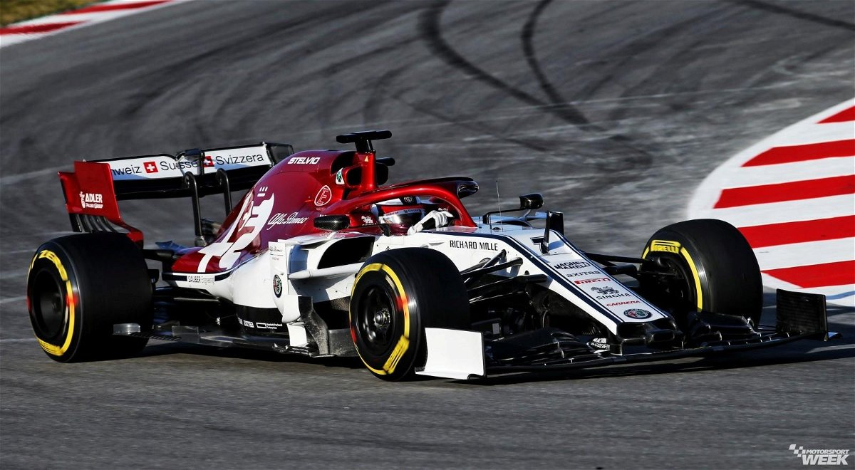 Sponsor Talks About Alfa Romeo F1's Livery And Robert