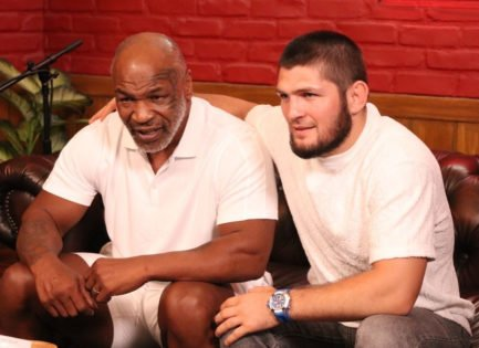 VIDEO: Mike Tyson Silences Khabib Nurmagomedov's Argument With a Legendary Quote