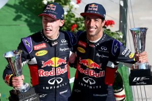 Ricciardo backs Kvyat