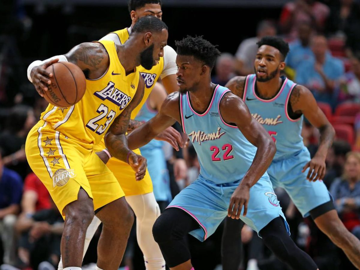 Jimmy Butler Is Full Of Praise For Lebron James Whatever Whenever He S There Essentiallysports