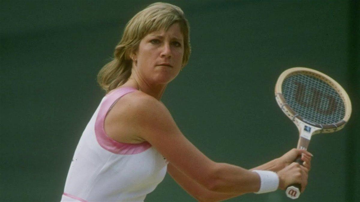 Chris Evert 18 Grand Slam singles titles