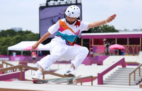HISTORICAL! Thirteen-Year-Old Skateboarder Shocks the World By Winning Gold at the Tokyo Olympics 2020