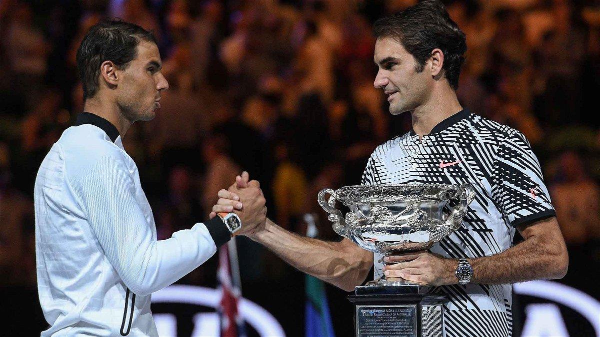 Rafael Nadal and Roger Federer, Australian Open 2017