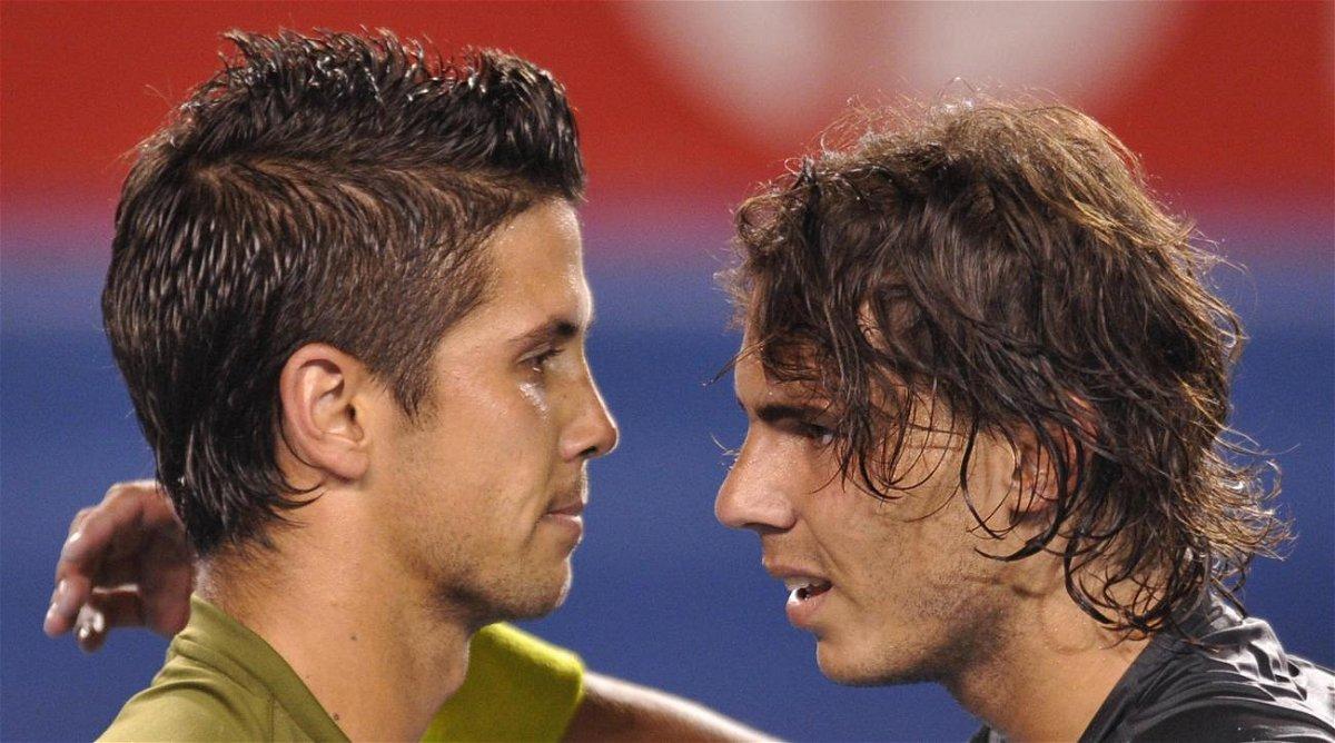 The Spaniards, Fernando Verdasco and Rafael Nadal
