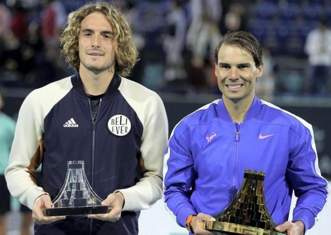 Nadal Dominates Tsitsipas to Reach Australian Open Final ...   Nadal Tsitsipas