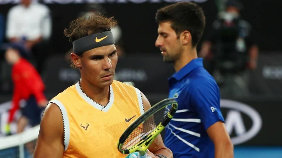 Nadal and Djokovic