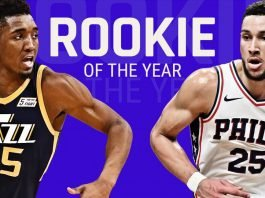 NBA Rookie of the Year: Ben Simmons or Donovan Mitchell