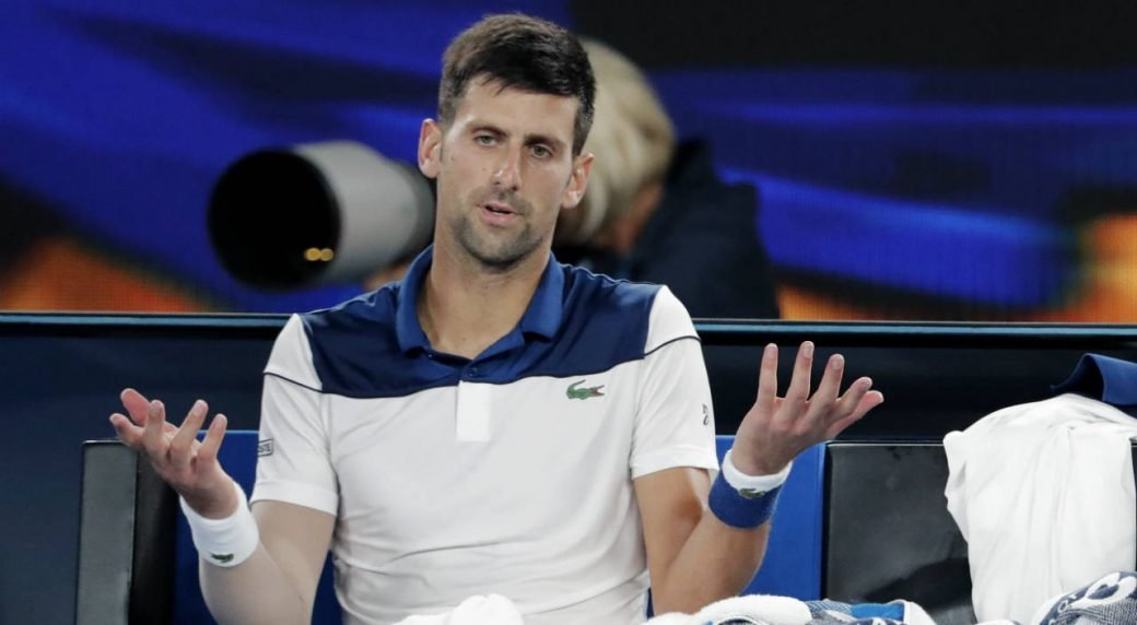 Novak Djokovic throws crazy tantrum in shock loss