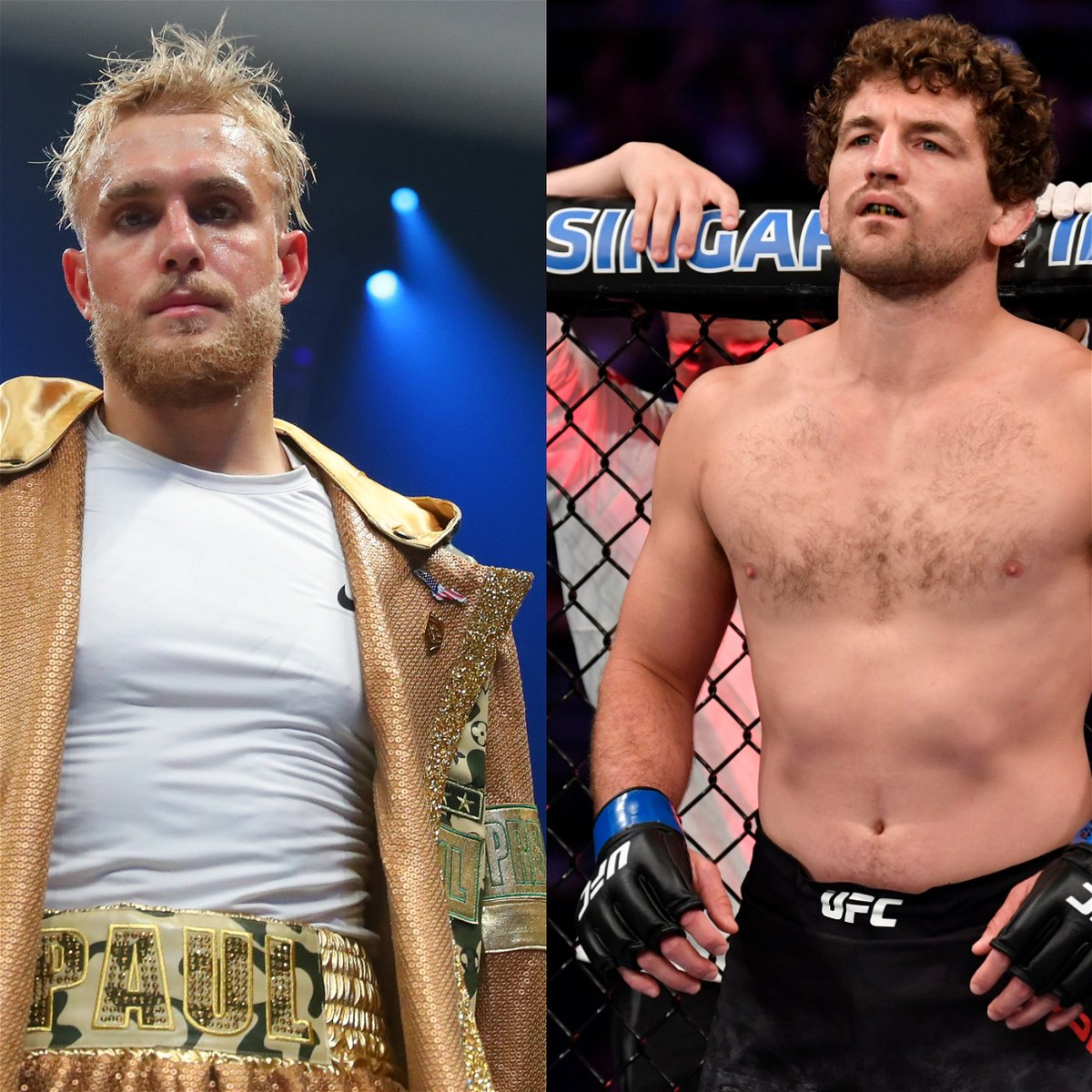 Ben Askren is targeting Jake Paul, even after commenting on the CTE state.
