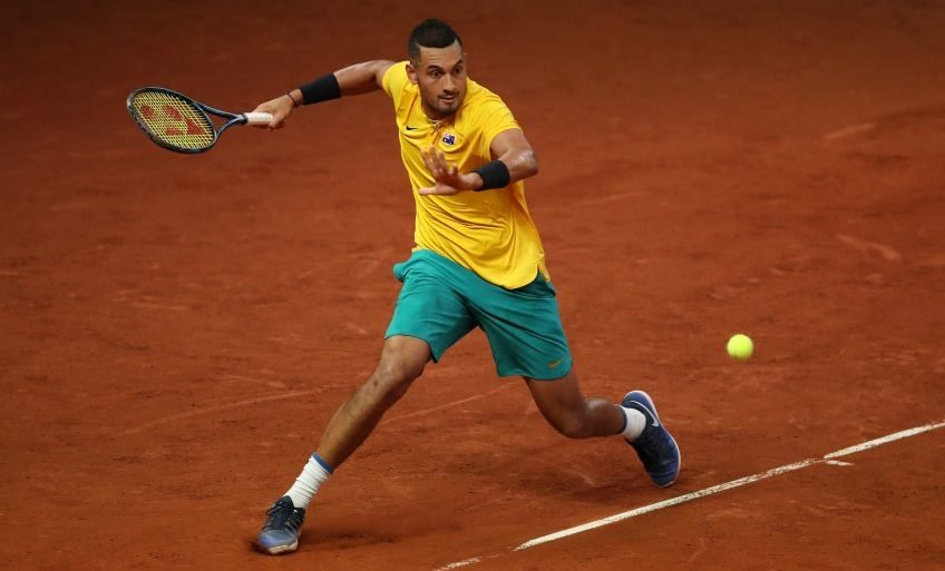 Image result for kyrgios clay