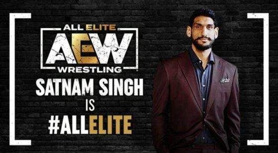 AEW Signs Former Dallas Mavericks Player to Full-time Contract