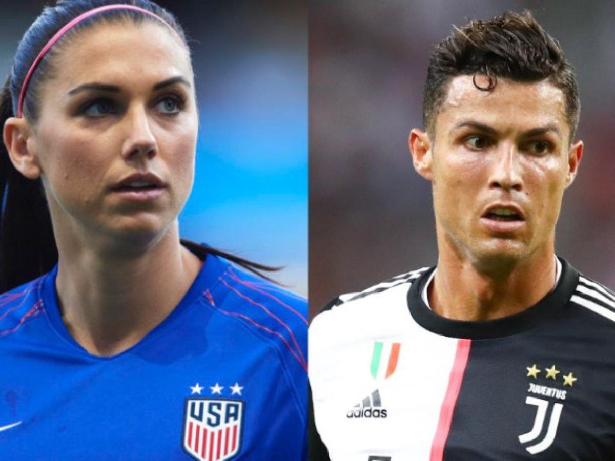 Alex Morgan 'Unhappy' as Cristiano Ronaldo Escapes Rape Charges -  EssentiallySports