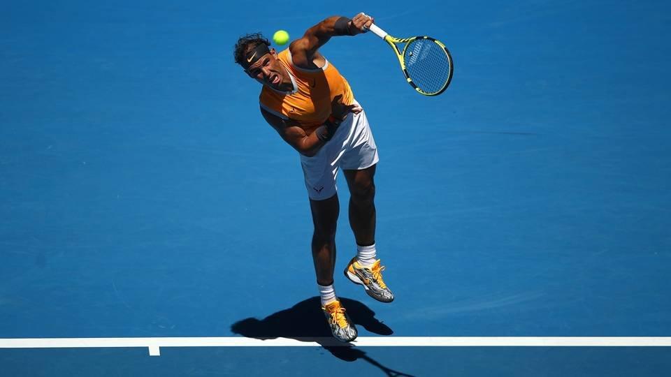 Nadal at Australian Open 2019