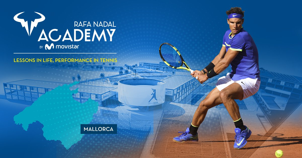 Rafa Nadal Tennis Academy by Movistar