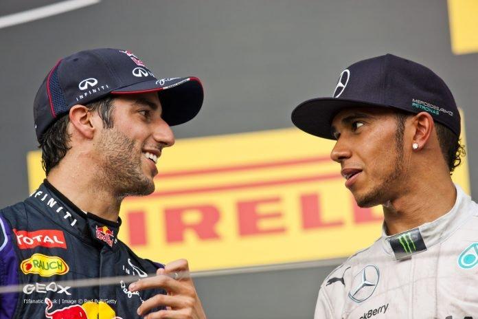 Ricciardo thinks