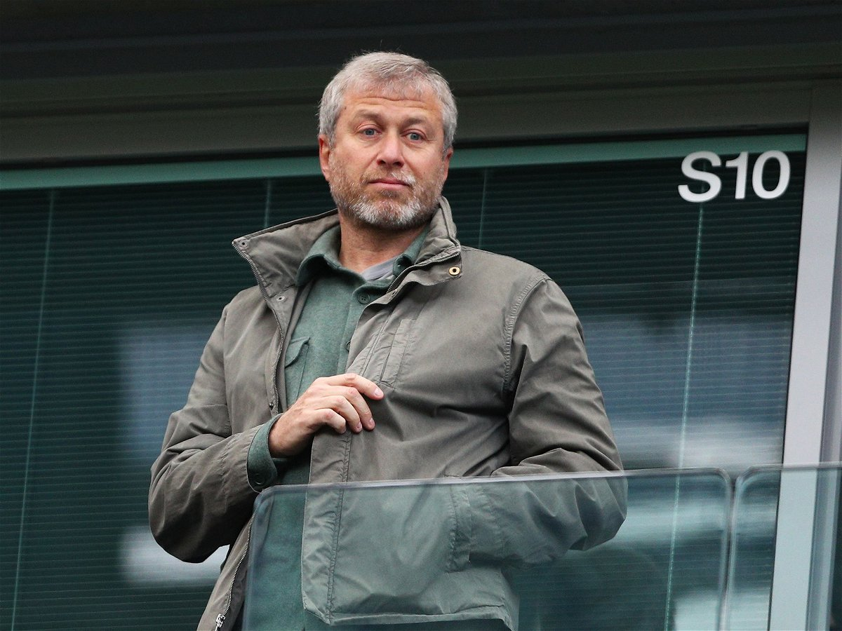 Roman Abramovich must be looking for some solution