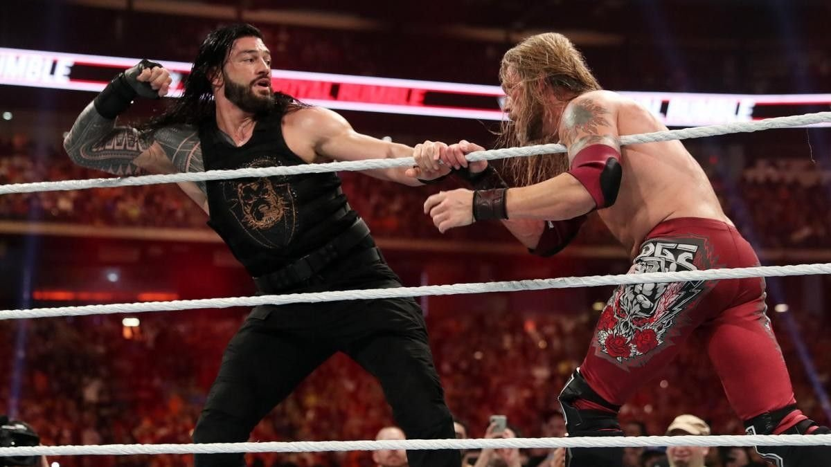 Reason Roman Reigns Vs Edge Would Be WWE Wrestlemania 37 Main Event 2